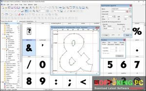 FontCreator Software Professional Latest Version Free Download